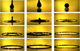 liquid metal impact